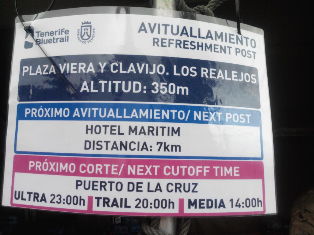 """7 Kilometer bis zum letzten """"Brunnen"""" und dann noch 3 oder 4 km bis ins Ziel"""
