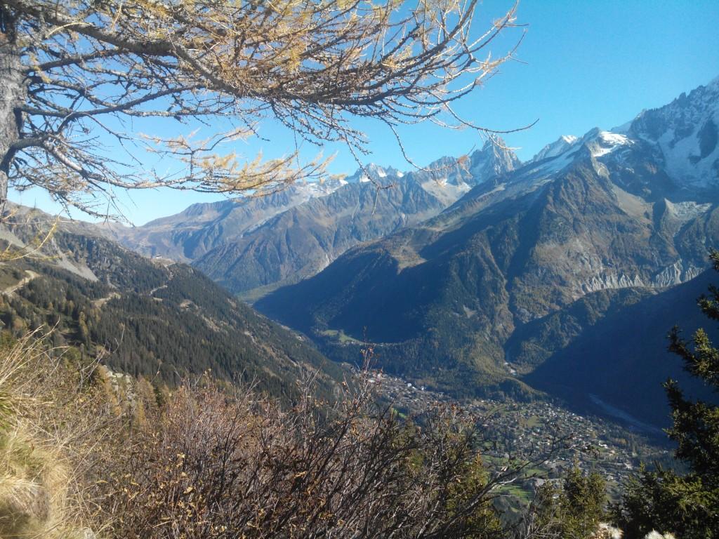 Blick von Planpraz (2000m hoch)