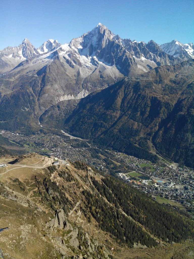 Blick vom Brevent 2525 m