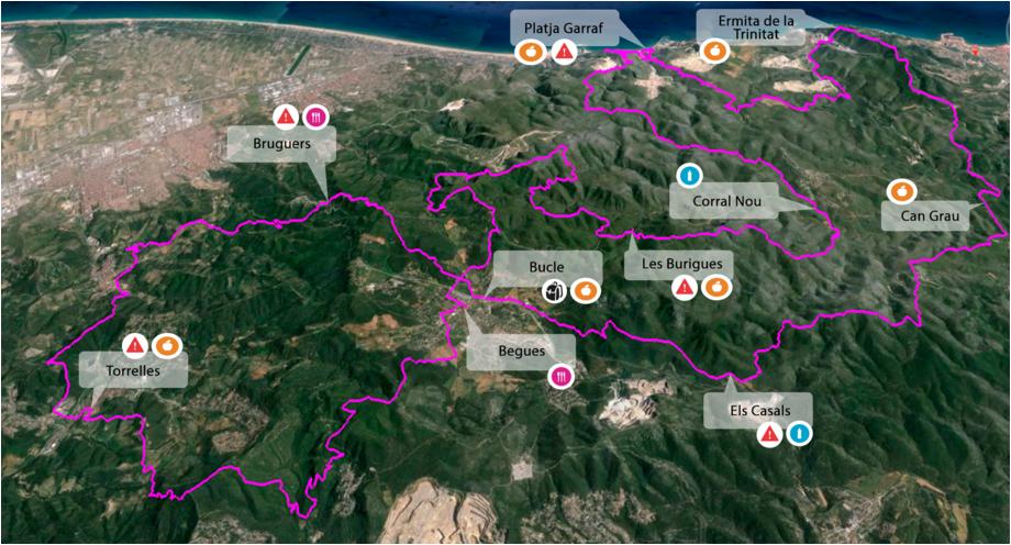 UTBCN 2016 Map