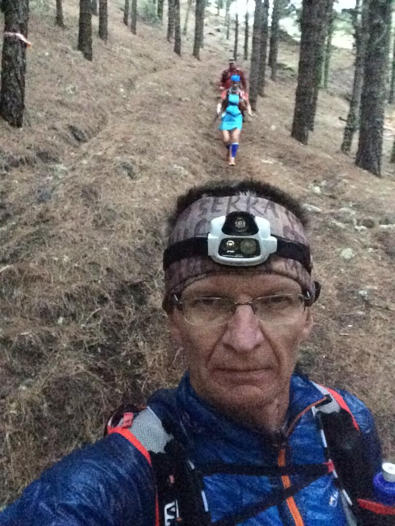 """Es rollte. Im Downhill war ich einfach effektiver unterwegs. Der Abschnitt mit """"Röckchen"""" zusammen hat wirklich Spaß gemacht. Leider war sie irgendwann im Rückspiegel verschwunden"""