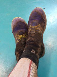 Schuhe kaputt gehopst