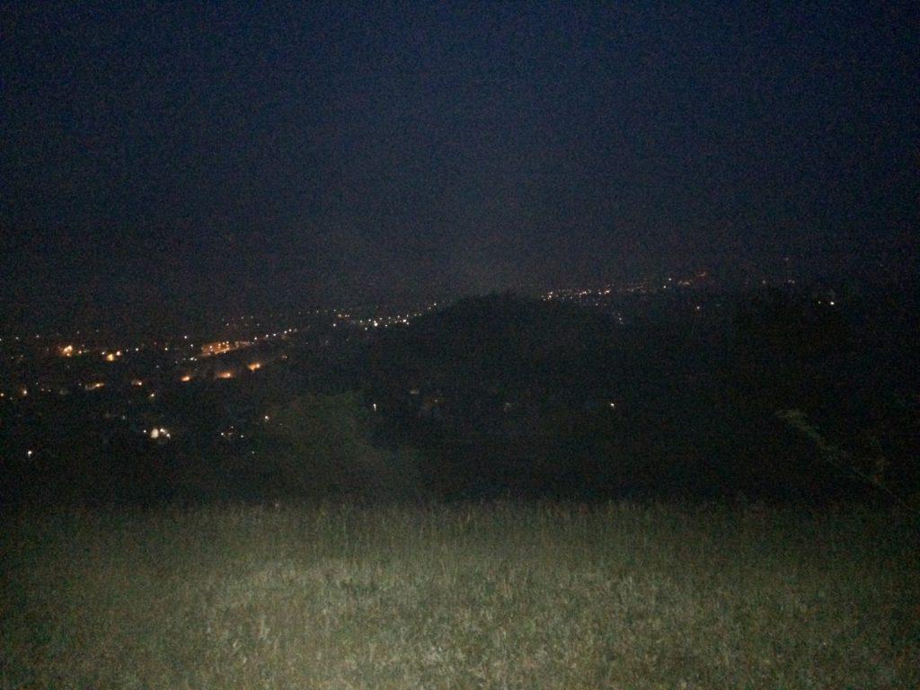 Jena bei Nacht. Zeit für das ein oder andere Foto sollte man sich nehmen