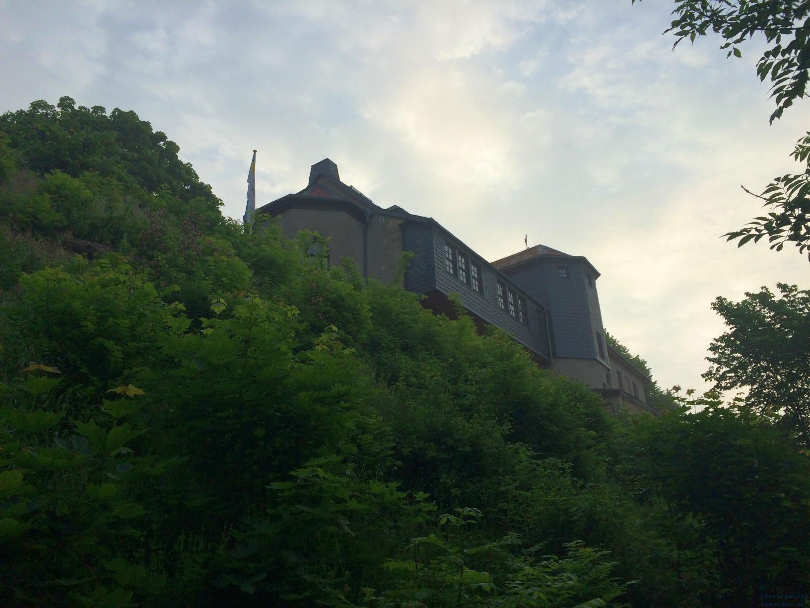 Älteste Berggaststätte Jenas: der Fuchsturm