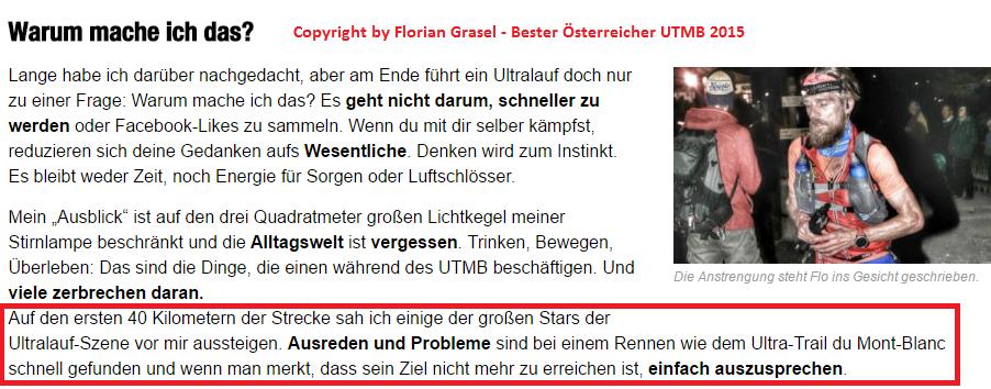 UTMB Florian Grasel