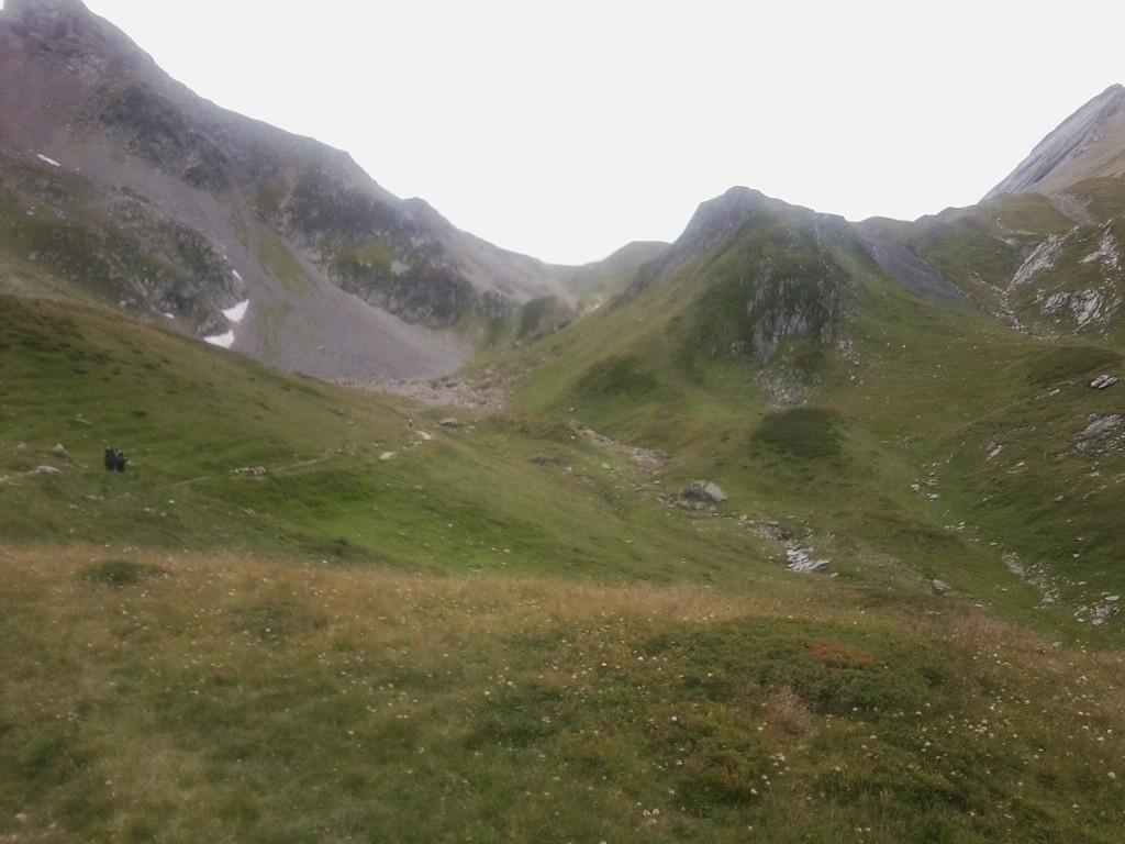 Aufstieg nach Col de Bonhomme - Bild aus 2014