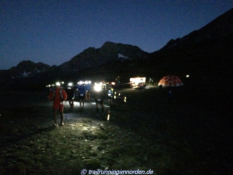 Col de La Seigne - Ich habe keine Ahnung, wie ich nach der Geröllpiste hier hoch kam. Blackout