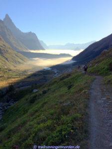 Downhill zum Lac Combal
