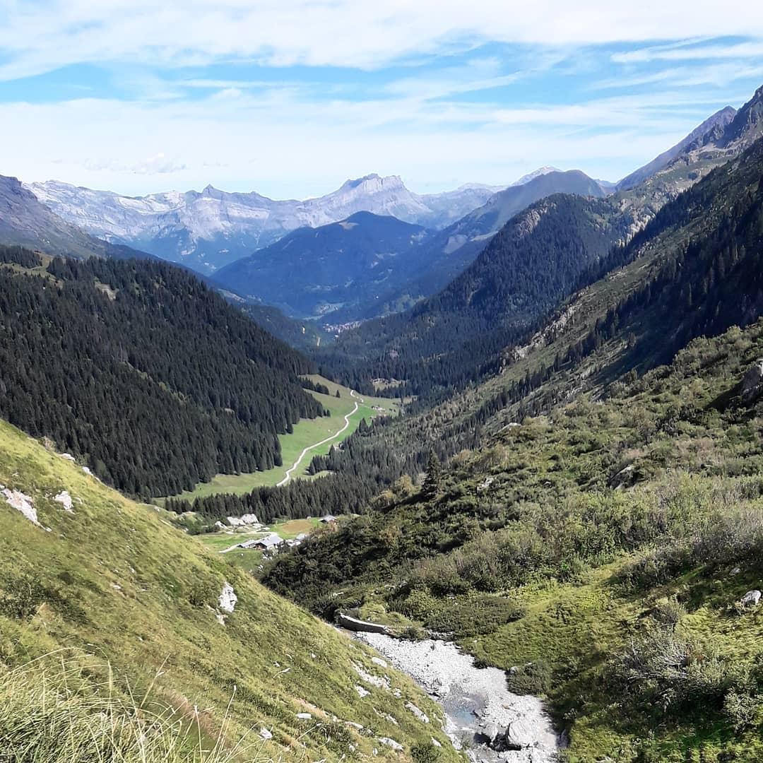 Three weeks ago ... Aufstieg über Col the Bonhomme zum Cruz de Bonhomme zum Col de Fours (2665m) ...